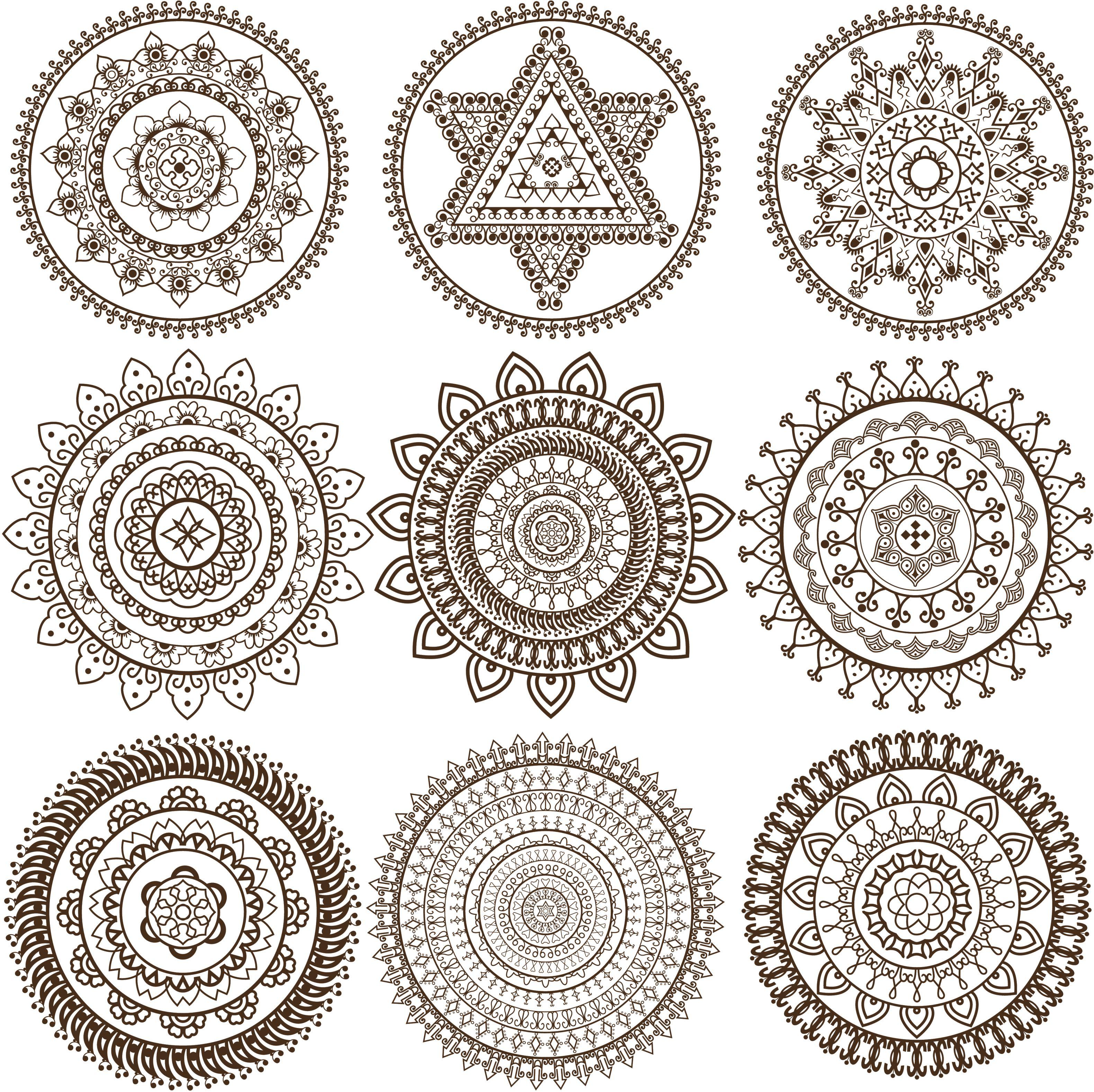 mandalas-coloring-Mehandi-Mandala-design-56a906743df78cf772a2ed27