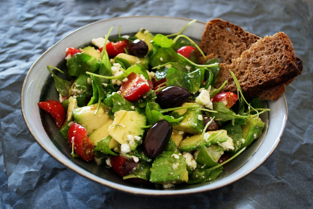 olive oil-vegetables