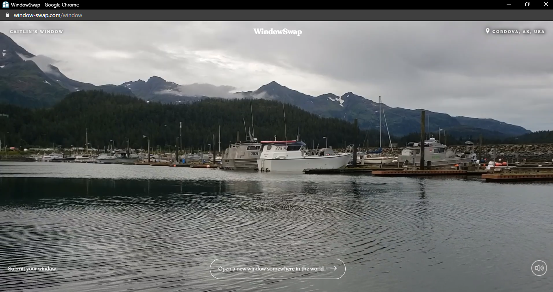 lake, boats and mountains