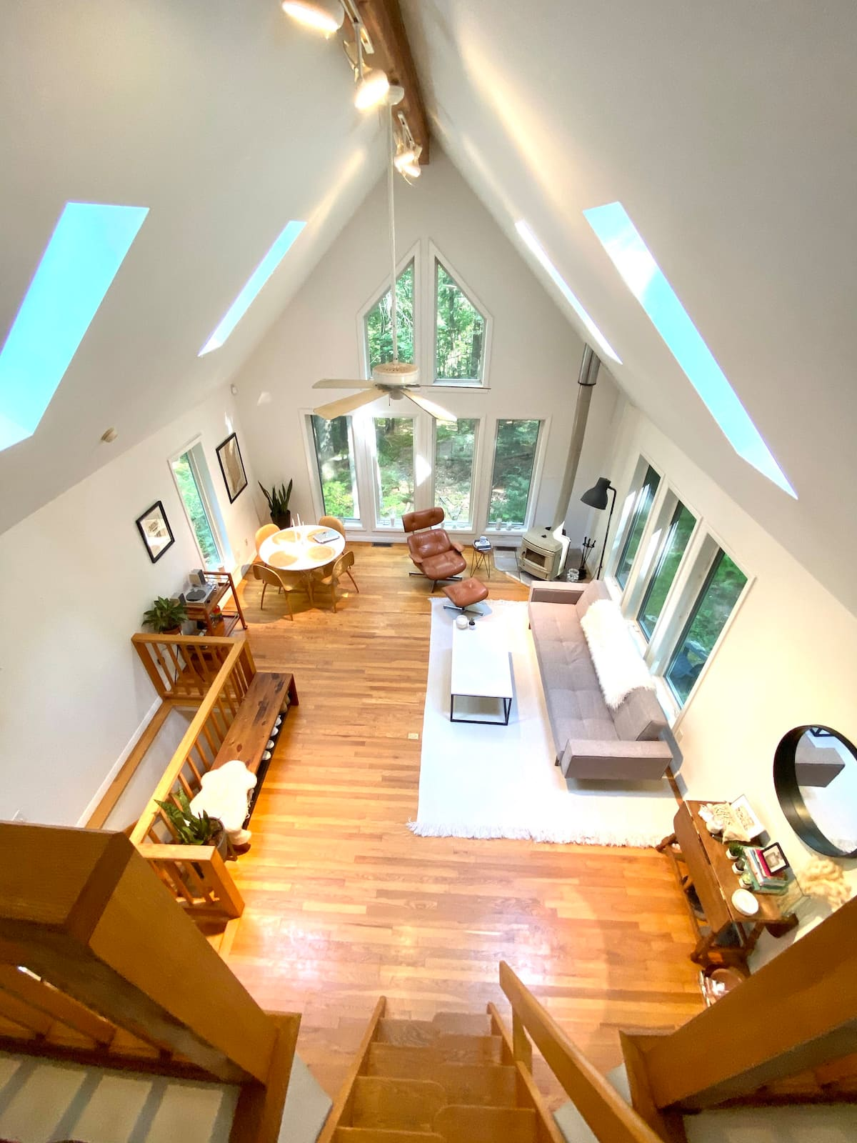 top of living room