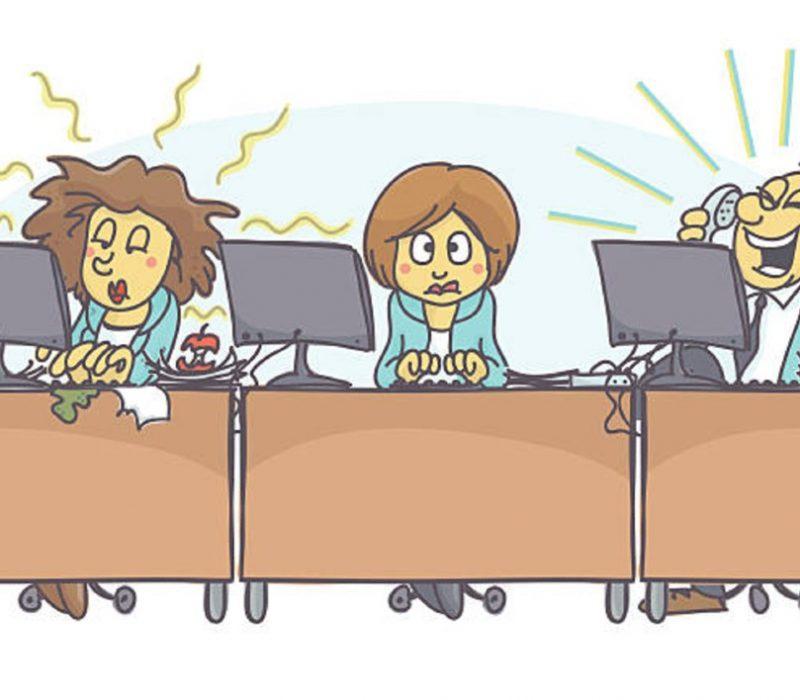 ενοχλητικές συνήθειες χώρος εργασίας